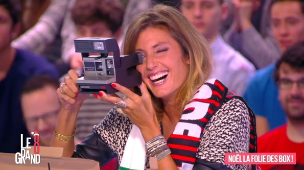 Box polaroid sur direct 8