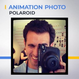 Animation photo Polaroid