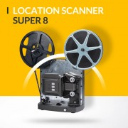 Location scanner reflecta pour film super 8