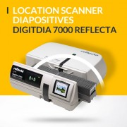 Location scanner à diapositives automatique