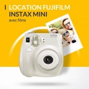 Location Fujifilm instax mini avec photos
