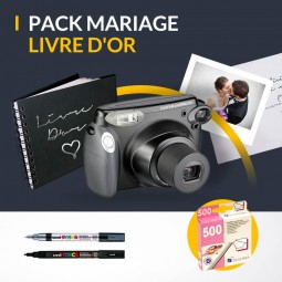 Location polaroid livre d'or mariage