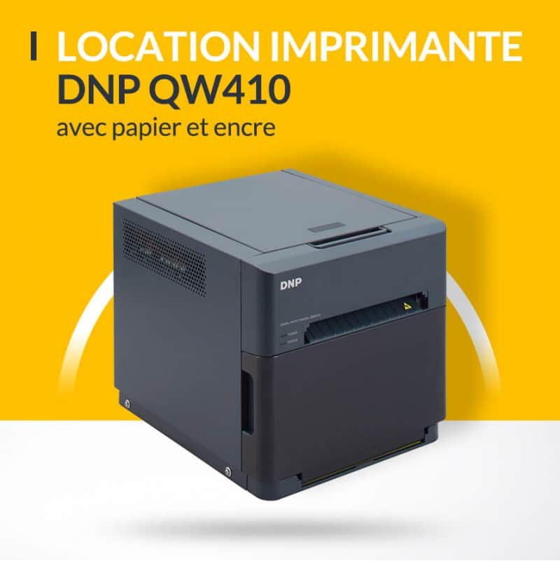 Location imprimante DNP QW410 nomade