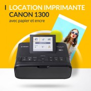 Location d'imprimante photo compacte Canon Selphy