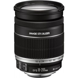 Objectif Canon 18-200mm