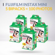 Lot de 5 bipack fujifilm instax mini