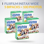 Lot de 5 bipacks Fujifilm instax wide
