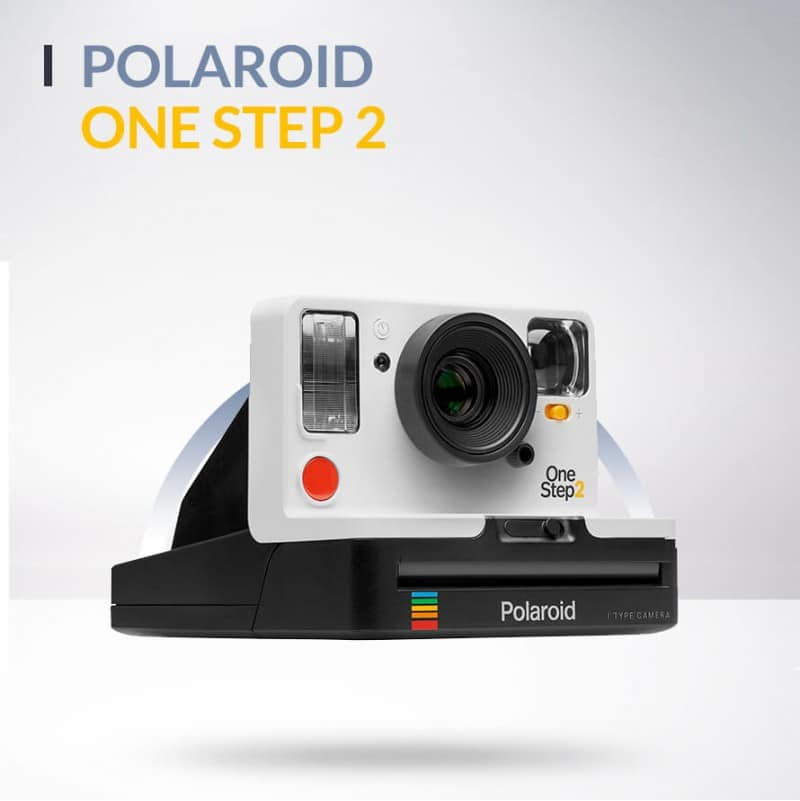 Polaroid One Step 2 blanc ou graphite
