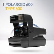 Polaroid 600 appareil photo vintage