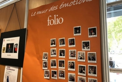 Animation photocall pour Folio